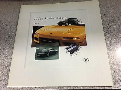 Acura vehicle catalog/brochure 1999!