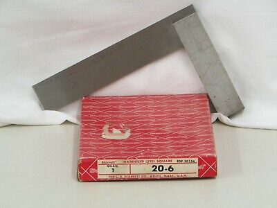 Starrett 6 Master Precision Steel Square 20-6