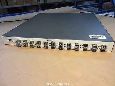 EMC Connectrix DS-24M2 8-Ports Fibre Channel Switch 118032296 INCL 24X SFP'S