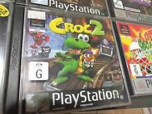 PS1 Playstation 1 Games Croc / Mortal Kombat 4 / Time Crisis WOW! Blacktown Blacktown Area Preview
