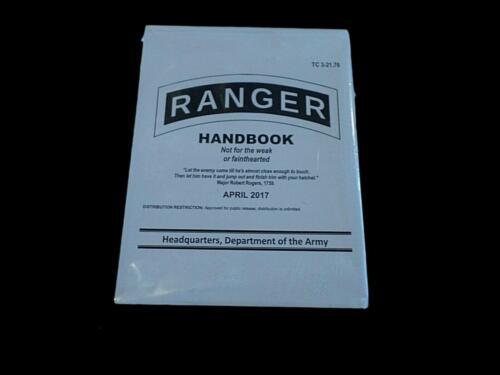 U.S ARMY RANGER HANDBOOK TRAINING BOOK MILITARY RANGER GUIDE BOOK