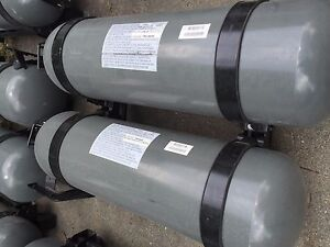 18 GGE SET OF 2 CNG TANKS DOT Type 1 Steel Fuel Storage EXPIRE 2026