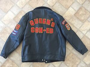 Queen's Con-Ed Leather Jacket