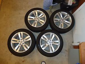 Set of Brand New Tires With Rims!!! Kitchener / Waterloo Kitchener Area image 1