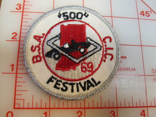 1969 Indy 500 Festival Parade collectible patch FREE SHIPPING (iF)