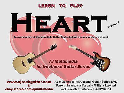 Custom Guitar Lessons, Learn guitar of Heart v1 on Rummage