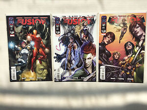 Fusion comics ( 1-3 set vf/nm)