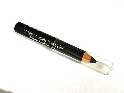 ESTEE LAUDER PURE COLOR INTENSE KAJAL EYELINER 01 BLACKENED BLACK MINI SIZE Estee Black Eyeliner