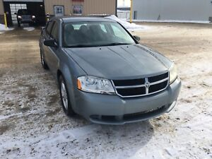 2008 Dodge Avenger low kms, sell trade for 4x4 truck