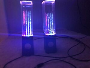 Water Speakers  (Perfect Condition)