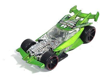 Hot Wheels Drift King 2007 New Models Race Car 8 Green Red Rims Exposed Engine for sale  Altamonte Springs