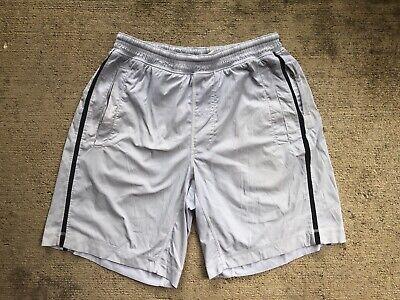 "Lululemon Men's Pace Breaker Shorts Medium Grey Ash 9"" Inseam Linerless"