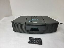 Bose Wave Grey Radio/CD Player AWRC1G Alarm Clock with Factory Remote