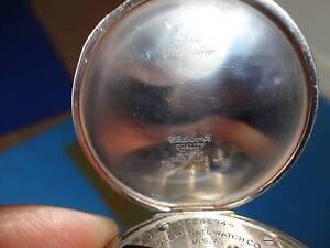 ELGIN 14K GOLD FILLED WORKING POCKET WATCH C.1928 Armidale Armidale City Preview