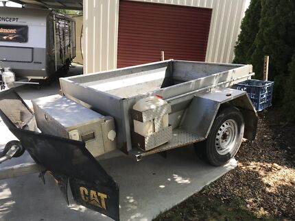 7x5 off road trailer