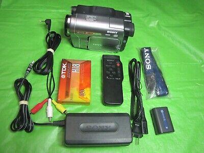 Sony DCR-TRV480 Digital8 Camcorder - Record Transfer Watch VCR Hi8 Video 8 Tapes