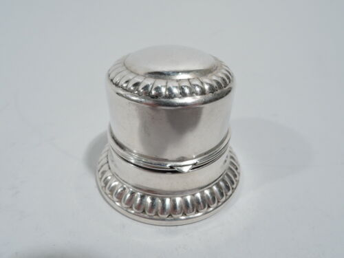 Birks Box - Modern Classical Jewelry Ring - Canadian Sterling Silver