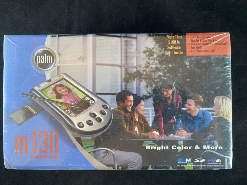 Palm m130 Handheld Color PDA/Vintage Pocket Computer Factory Sealed G1