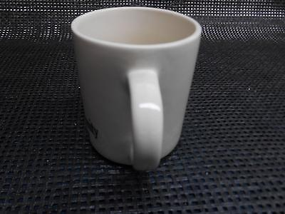 Old vtg FIRST COMMUNITY BANK & TRUST Coffee CUP Mug Advertising