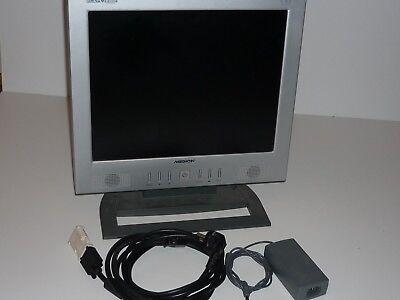 MEDION MD6155AN EZ17K 43 cm (17 Zoll) Monitor integrierte Lautsprecher - Silber