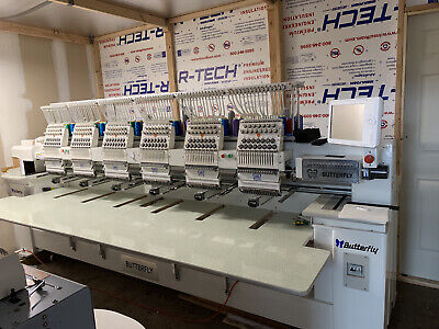 Used Commercial Embroidery Machine