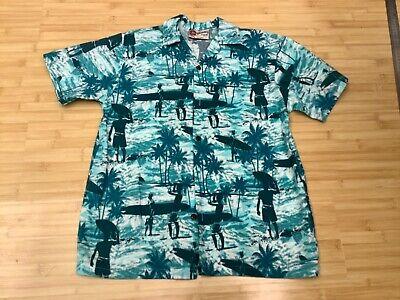 Original Hawaiian shirt from Hawaii Large boys. Barely worn - Boys Hawaiian Shirt