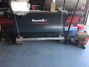 Brand new snowex power plow
