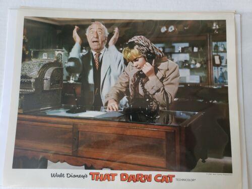 That Darn Cat Hayley Mills Dean Jones Provine Walt Disney 1965 Lobby Card 431