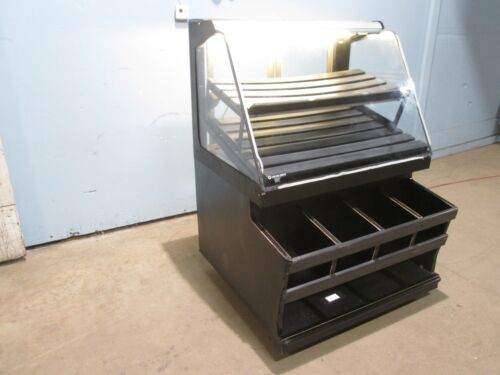 """""""STRUCTURAL CONCEPTS"""" COMMERCIAL LIGHTED DRY BAKERY DISPLAY MERCHANDISING CASE"""
