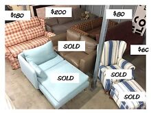 6 x Various Couches / Sofa / Futon from $60  2-5 Seaters Artarmon Willoughby Area Preview