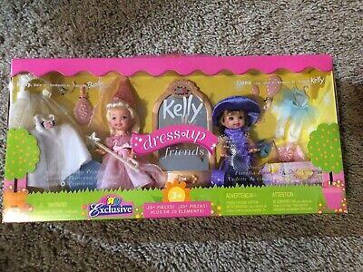 Barbie Kelly Dress Up Friends Toys R Us Exclusive 2001 Liana Set #54244