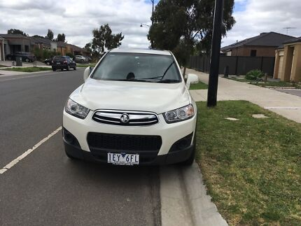 Holden captiva 7 seater