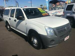 2007 holden rodeo dualcab 2x4 utility Bundaberg West Bundaberg City Preview
