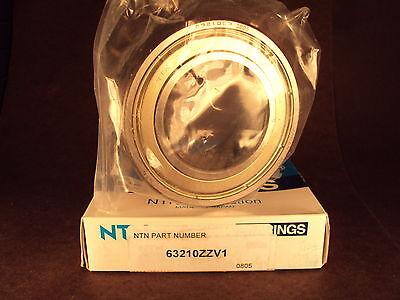 Ntn 63210zz 63210 Zz V1single Row Deep Groove Ball Bearing Skf 462210-zz