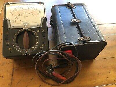 Triplett Vom Multimeter Model 630-plk With Nice Leather Case Wiresconnectors