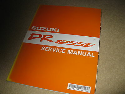 Genuine OEM Suzuki Motorcycle Workshop Service Manual - DR125SE