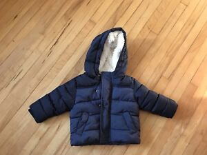 Winter coat size 6-12 months