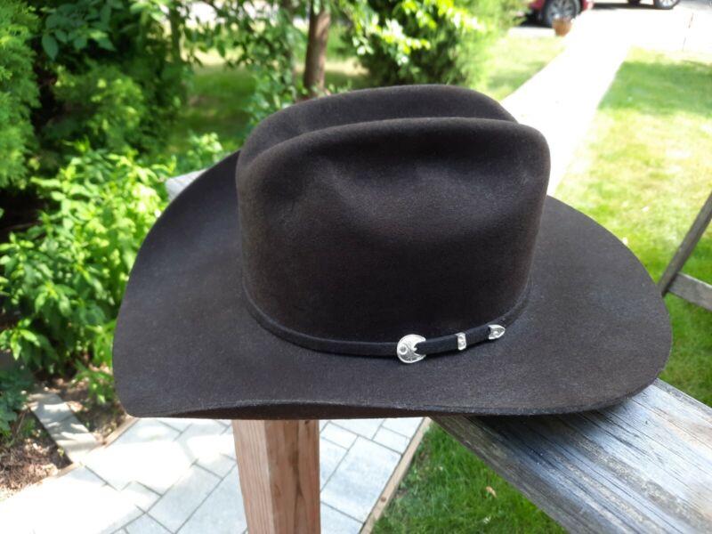 Stetson American Buffalo Collection Corral 4X Buffalo Felt Size 7 3/4 Cowboy Hat