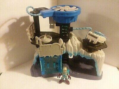 Imaginext Mr. Freeze Batman Lair Headquarters W/ Mr Freeze Figure Fisher Price *