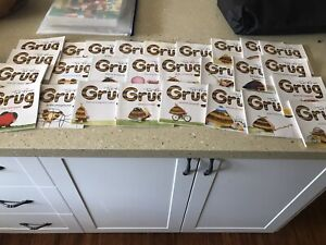 27 x GRUG by Ted Prior book collection bundle