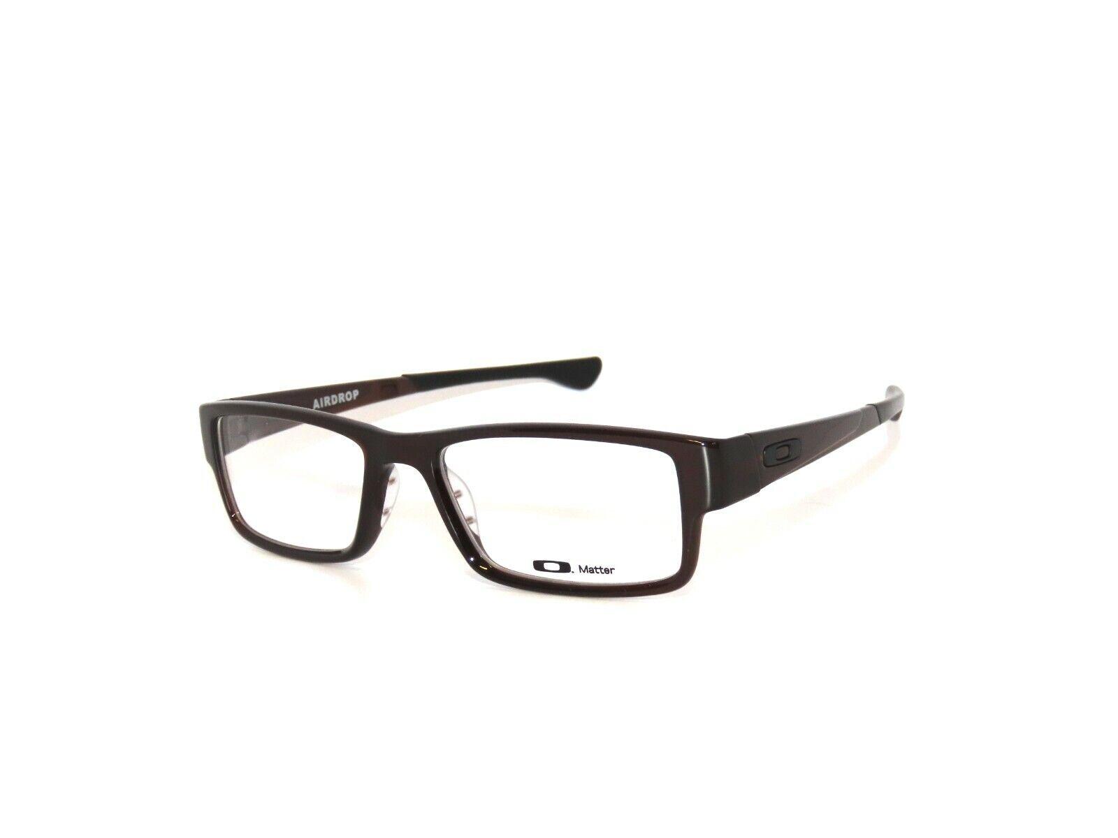 Oakley Airdrop 8046-06 55 Rootbeer Authentic Eyeglasses