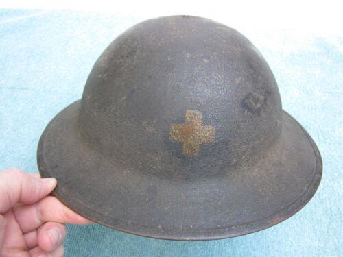 WWI US Army 33rd IL national guard M-1917 helmet !!!