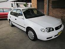 2000 Toyota Corolla Hatchback 11/16 REGO Maitland Maitland Area Preview