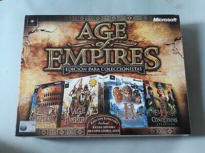 Age of Empires: Edición para Coleccionistas, Nuevo Y Precintado, Juegos PC,...
