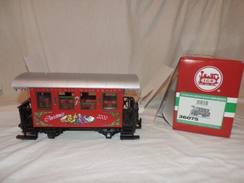 LGB  36075 2000 Christmas Passenger Coach