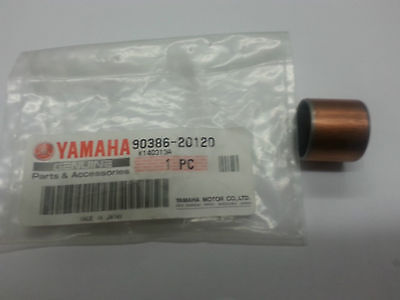 YAMAHA DT125LC DT125R XT250 XT350 XT600 REAR SUSPENSION ARM BUSH 90386-20120 NOS