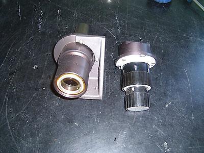 Lot Of 2 Leco Metallograph Lens Parts