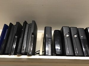 Xbox 360 and PS3 systems for sale $100