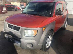 2003 Honda Element w/Y Pkg -- FWD -- AS-IS