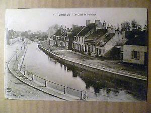 Postcard-Guines-Le-Quai-du-Batelage-France